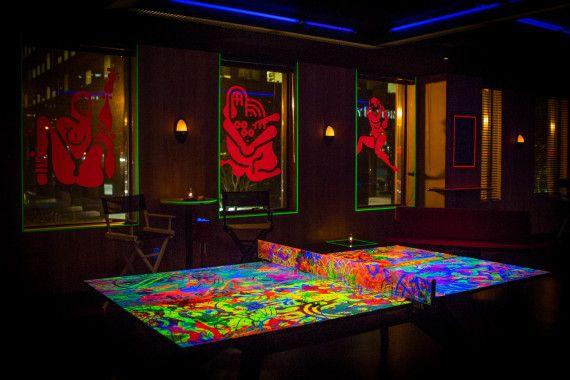Elegant Ryan Mcginness Standard Ping Pong Table 001 570x380 Ryan McGinness Launches  Custom Ping Pong Table At