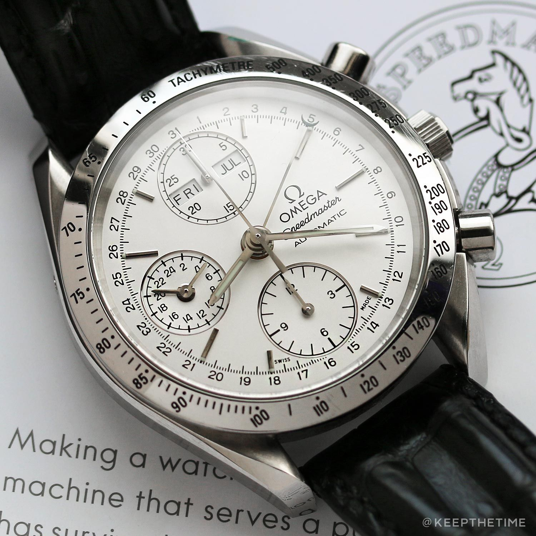 756deb5e7 Triple Date Speedmaster | Watch Blog | Omega watch, Omega ...