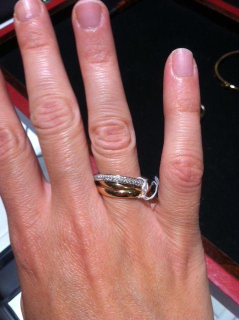 Cartier Trinity Ring Cartier Pinterest Trinity ring Cartier