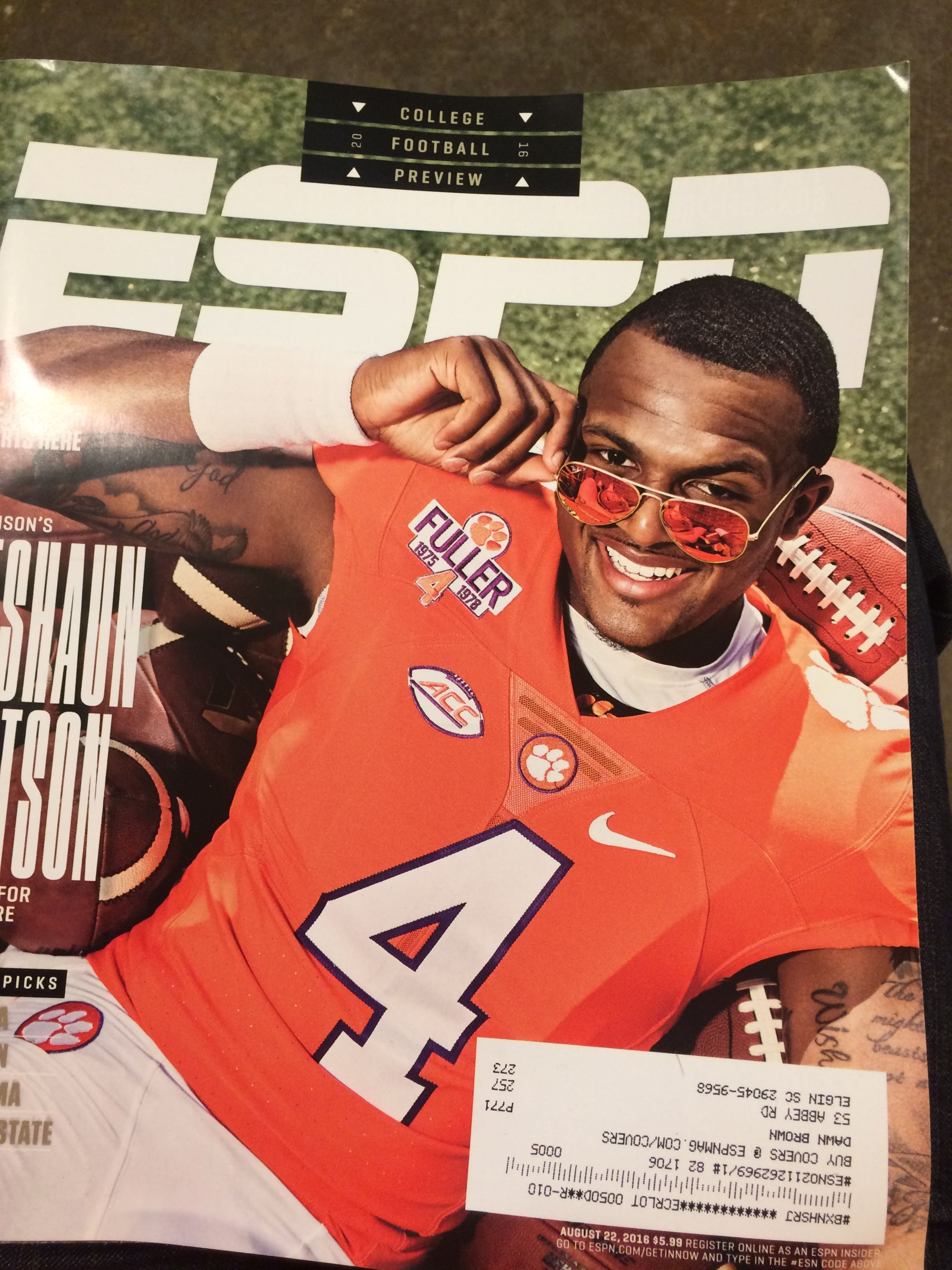 College Football Preview issue 2016