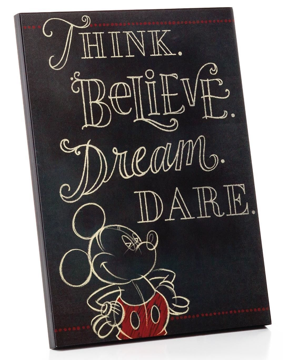 The perfect Mickey Mouse quote to hang at your desk or in your ...
