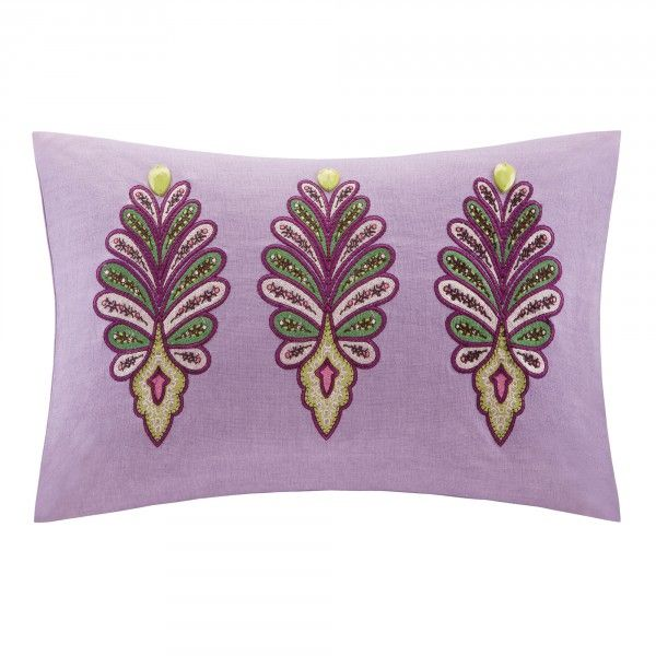 Vineyard Paisley Decorative Pillow The Vineyard Paisley Queen