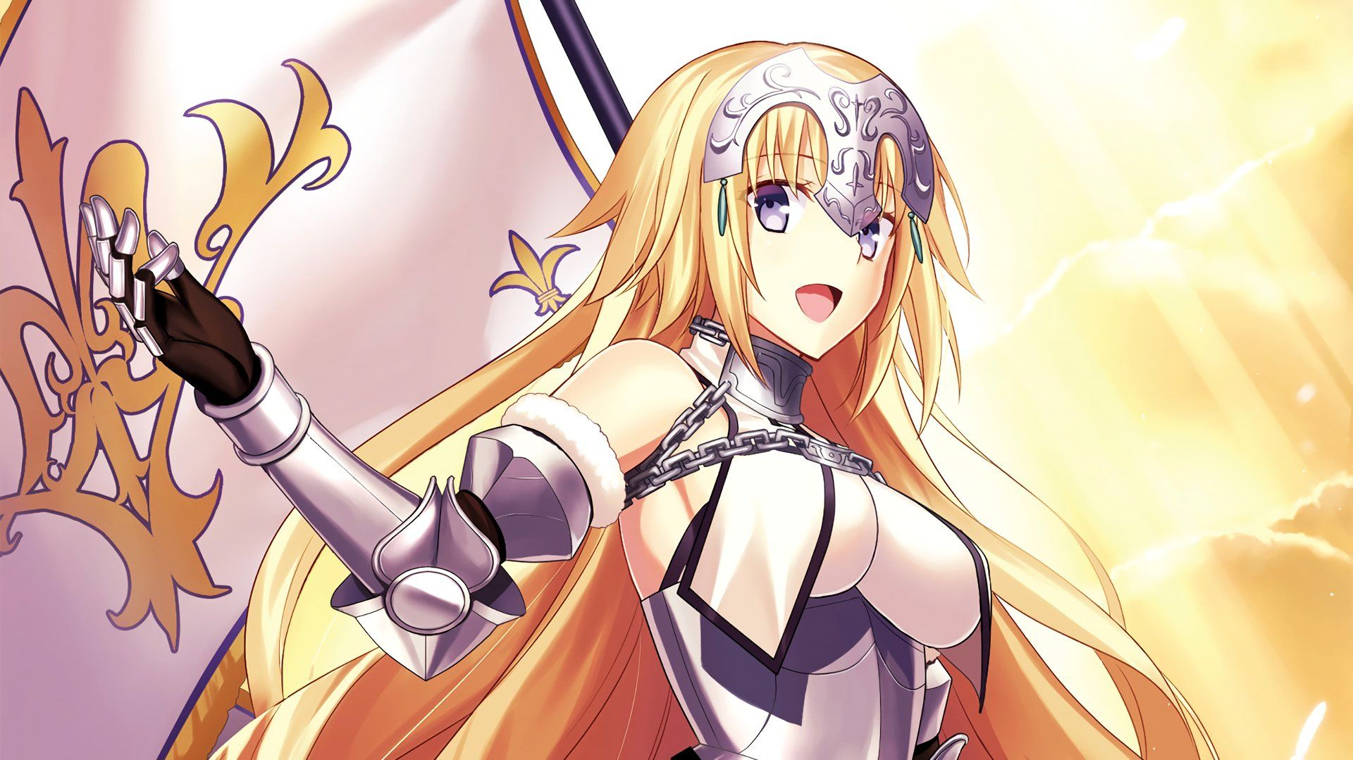 Anime Fate/Grand Order Jeanne d'Arc Wallpaper