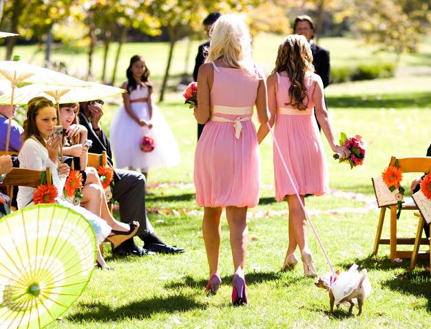 burlap and crystal wedding