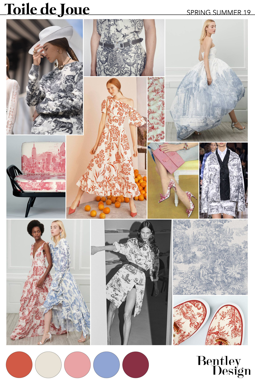 Freelance Fashion Designer - SS19 PRINTS: TOILE DE JOUE ...