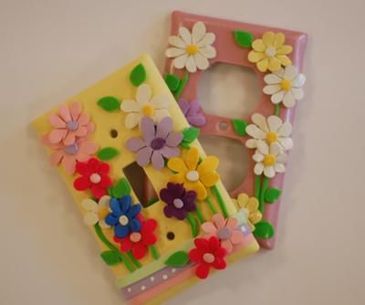 childrens polymer clay light switch plates - Decorative Switch Plates
