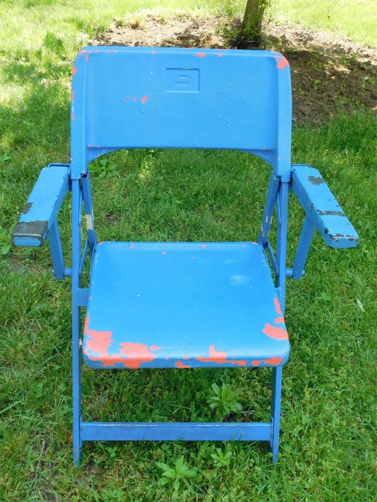 cool Veterans Stadium 1967 2003 Folding Chair ORIGINAL Seat MLB