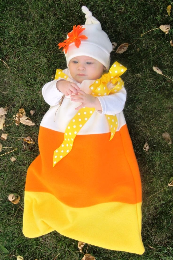 Baby Candy Corn Costume. 10 DIY Kids Halloween Costumes Cute costume for all those  sc 1 st  Pinterest & 10 DIY Kids Halloween Costumes | Candy corn costume Candy corn and ...