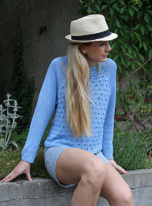 Peacock Sweater for Summer
