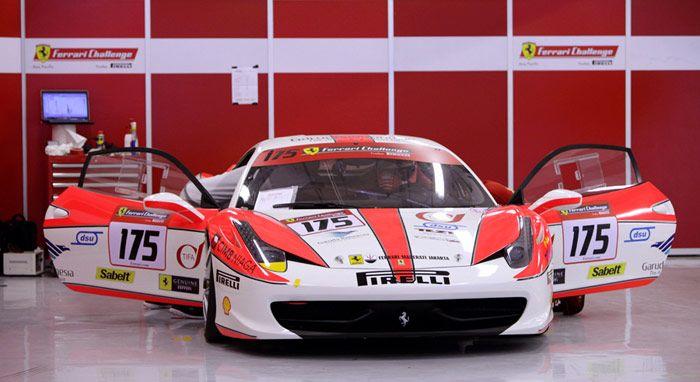 Modifikasi Ferrari 458 Italia Tampil Merah Putih Di Balap
