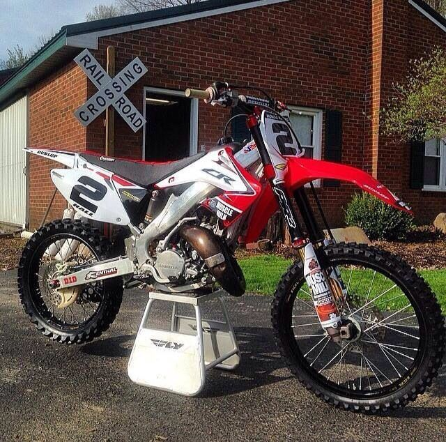 Nice Cr125 Honda Dirt Bike Motocross Bikes Racing Bikes