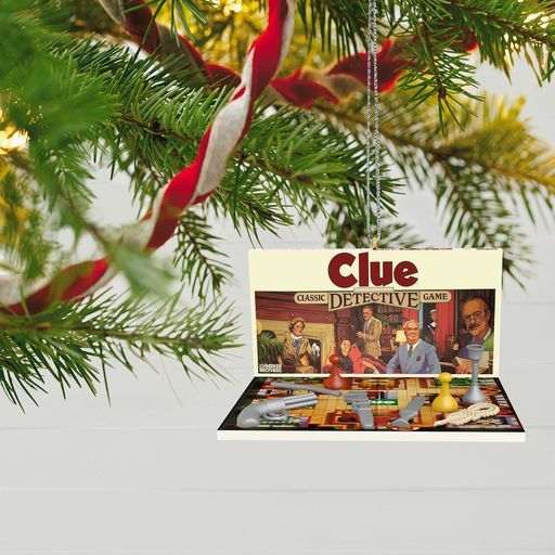 Family Game Night Clue® Ornament, - Family Game Night Chutes And Ladders® Ornament A Gamer Holiday