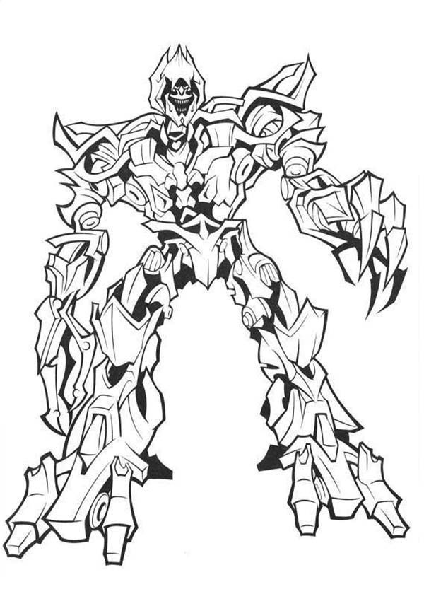 ironhide movie Colouring Pages