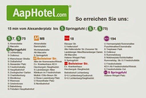 Aaphotel Com Visitenkarte Rückseite Aaphotel Berlin