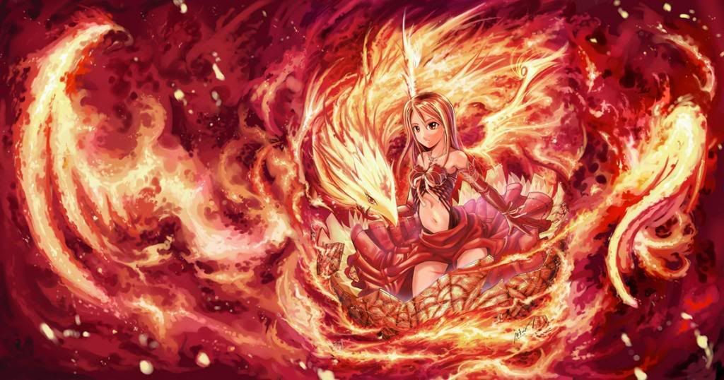 Phoenix Girl Google Search Awesome Anime Pinterest Anime