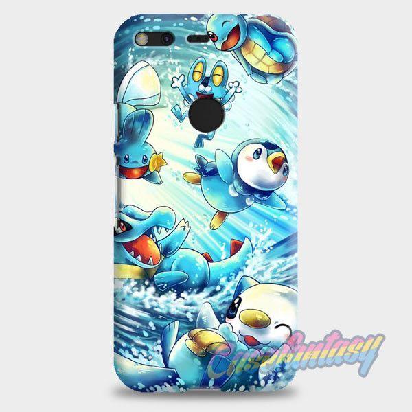 Pokemon Water Starter Google Pixel XL Case | casefantasy