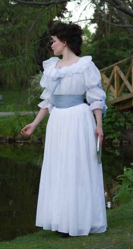 Chemise a la Reine - detailed making-of photos