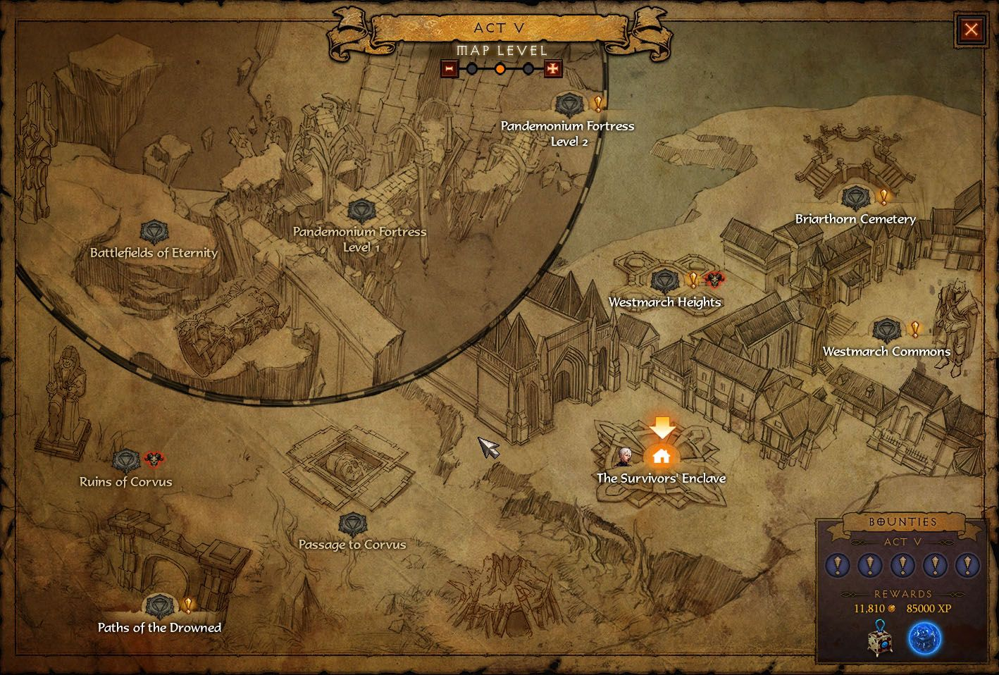 Towns too hard to see on new diablo 3 waypoint map fans suggest towns too hard to see on new diablo 3 waypoint map fans suggest easier visuals gumiabroncs Images