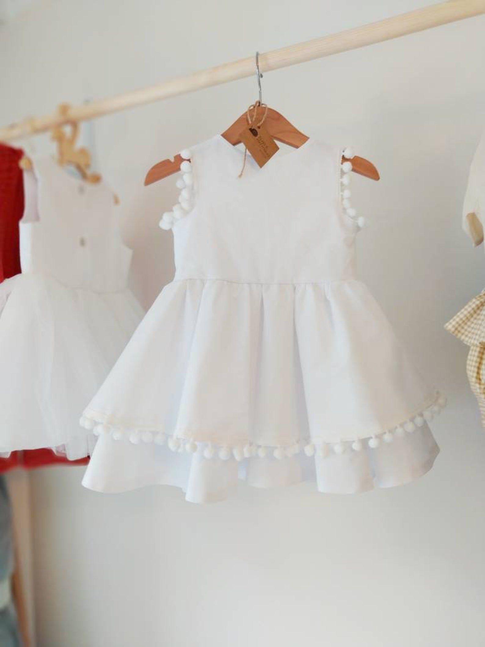 Flowergirl White Dress Newborn Baby Dress Girls Dress Naming Etsy 1st Birthday Girl Dress Birthday Girl Dress Newborn Dresses [ 2117 x 1588 Pixel ]