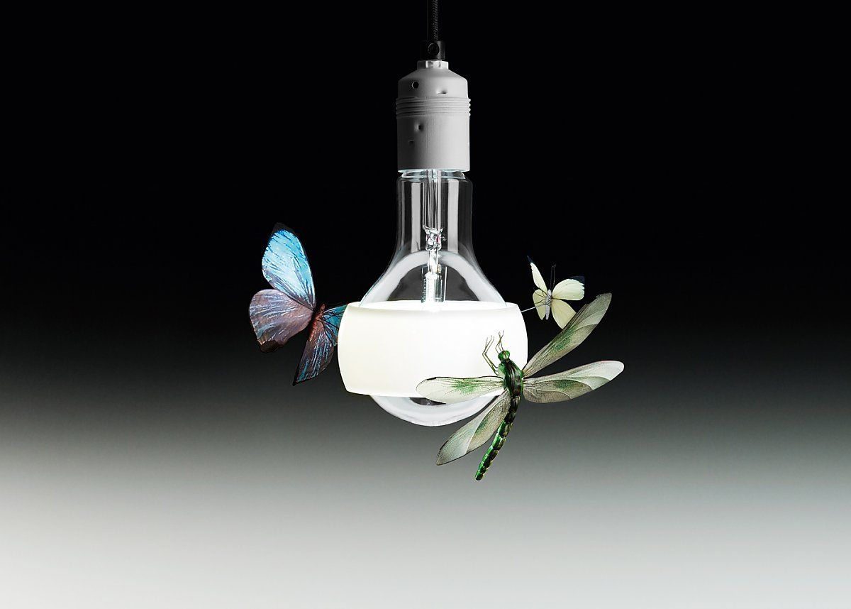 Lampade A Sospensione Allaperto : Whimsical lighting collection by ingo maurer luci lights