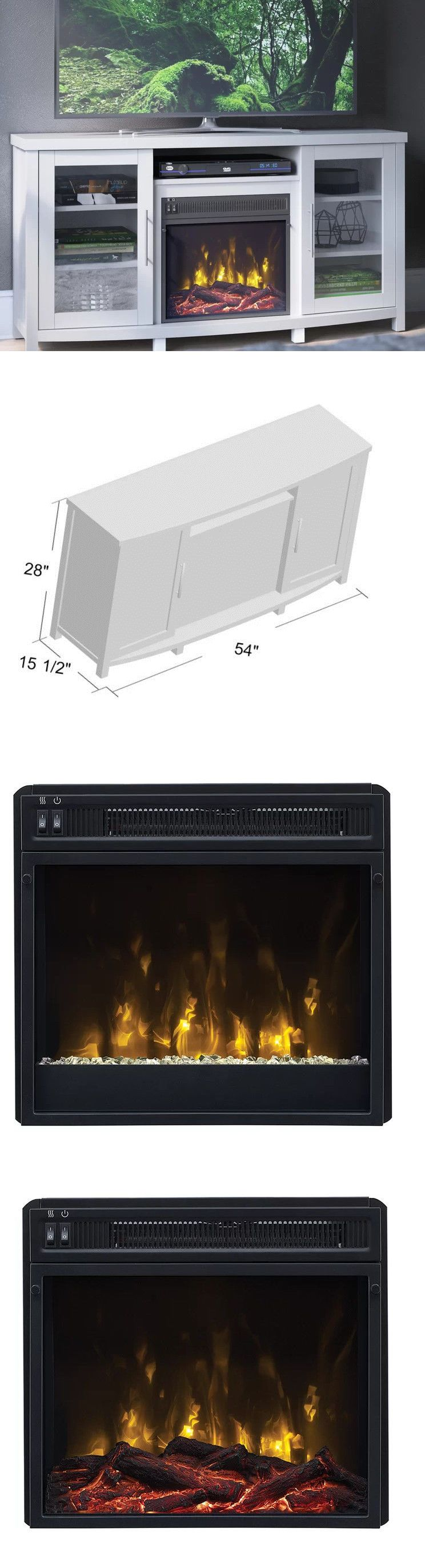 Entertainment Units Tv Stands 20488 White Fireplace Tv Stand 65