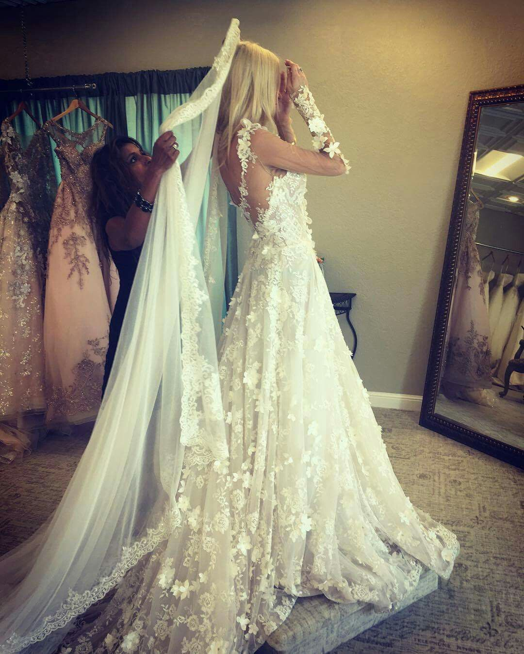 Trying on wedding dresses for the first time  Pin by Julia Rodríguez Díaz on Wedding Dresses  Pinterest  Wedding