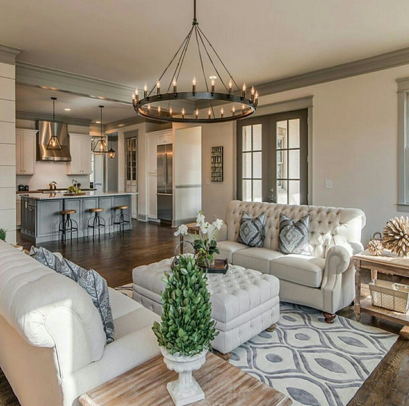 Decorate Living Room And Dining Room Combo: EXQUISITE LIVING ROOMS By Karla Jones