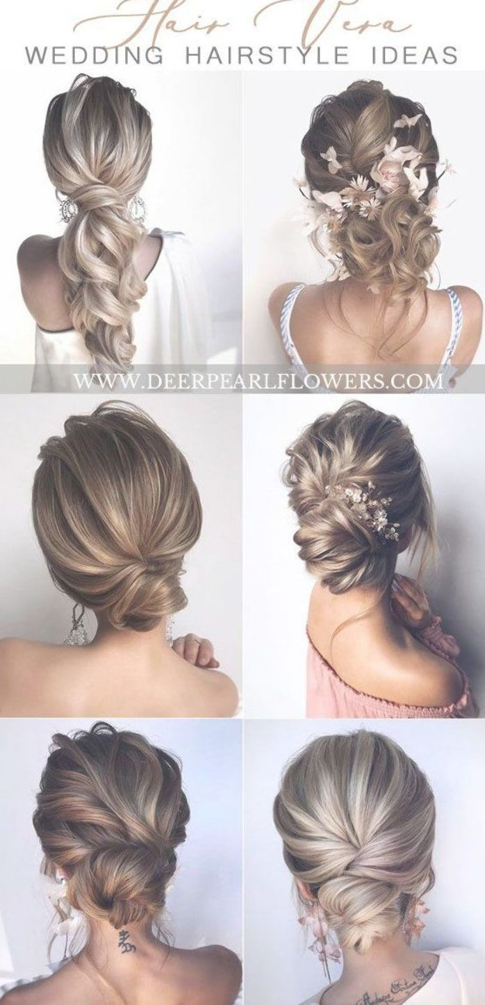 Long Wedding Hairstyles and Updos for Bride from hair_vera