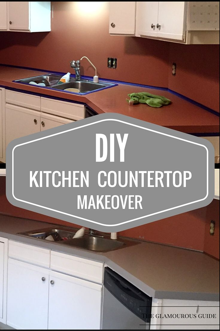 Diy Kitchen Countertop Makeover With