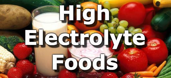foods electrolytes food electrolyte potassium source sodium nutrition low drink diet body healthy health important yogurt whole carb eat healthaliciousness