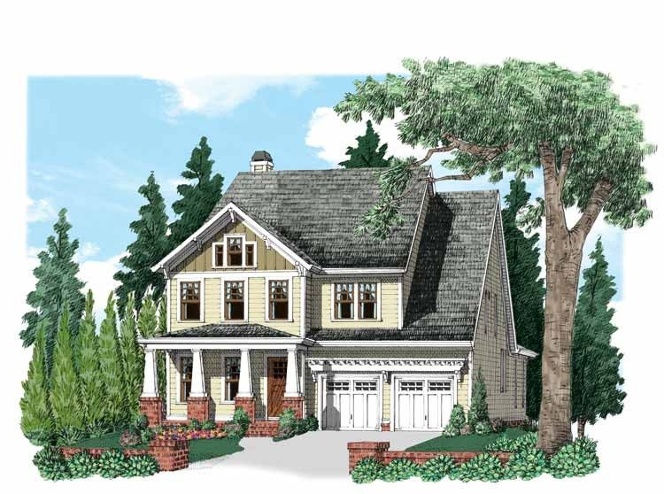Craftsman Style House Plan 3 Beds 3 5 Baths 2780 Sq Ft