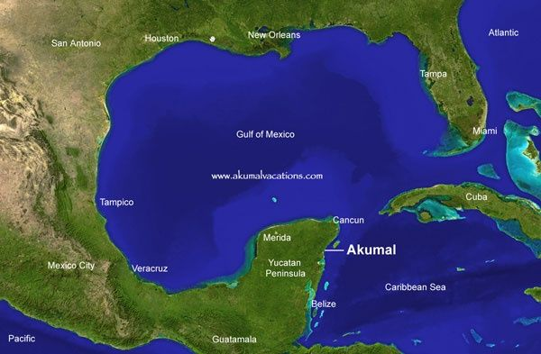 Where Is Akumal Mexico Located | Akumal, Mexico / Location | Ak-u ...