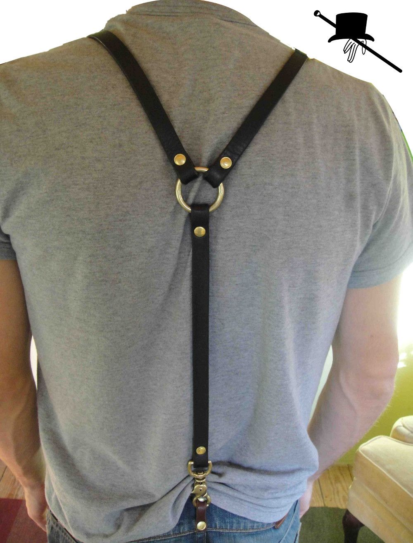 Nice Unique Valentines Day Fox Suspender Unisex Suspender Adjustable Y-Back