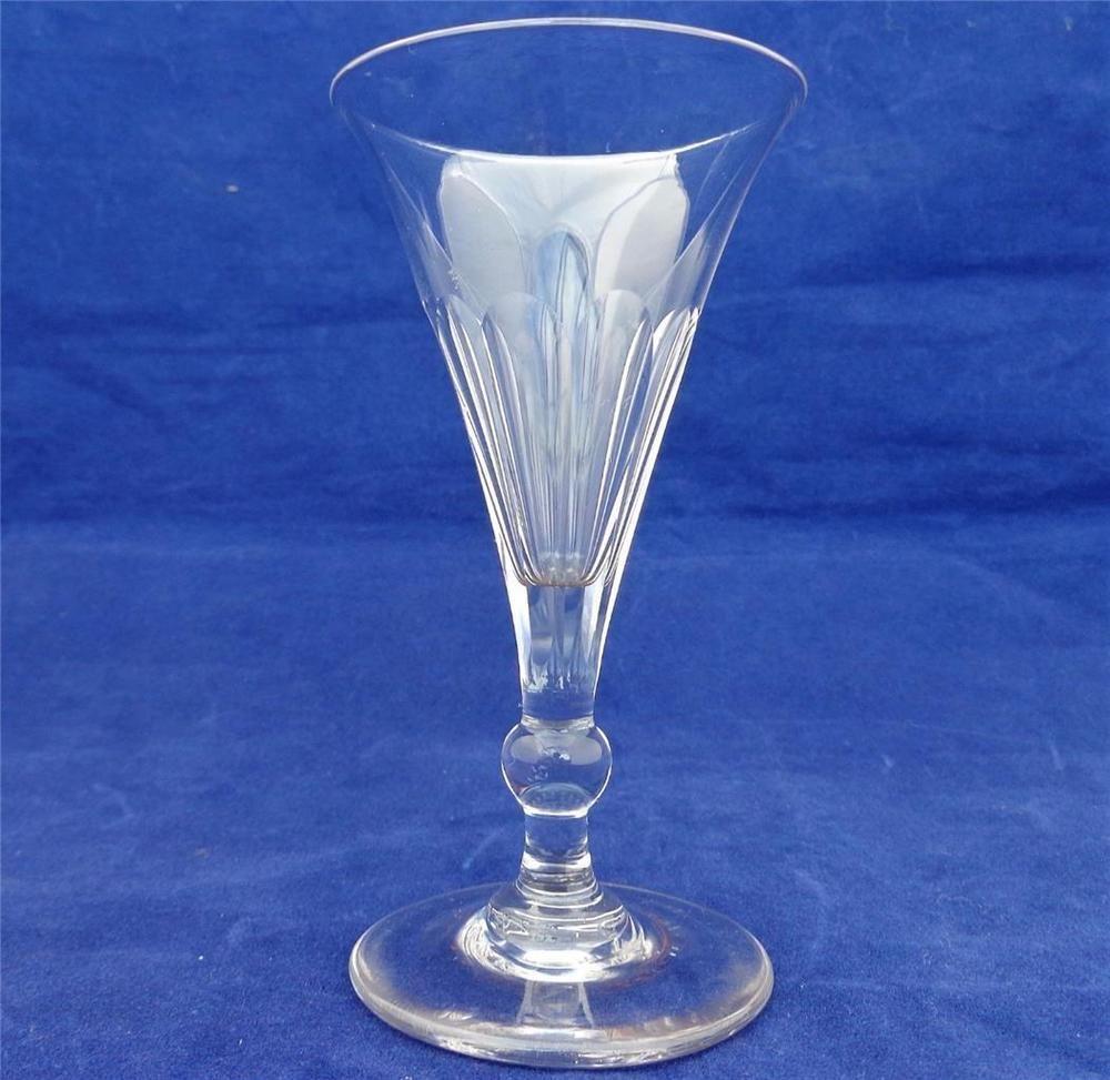 antique 19th century Port Glass ca.1820