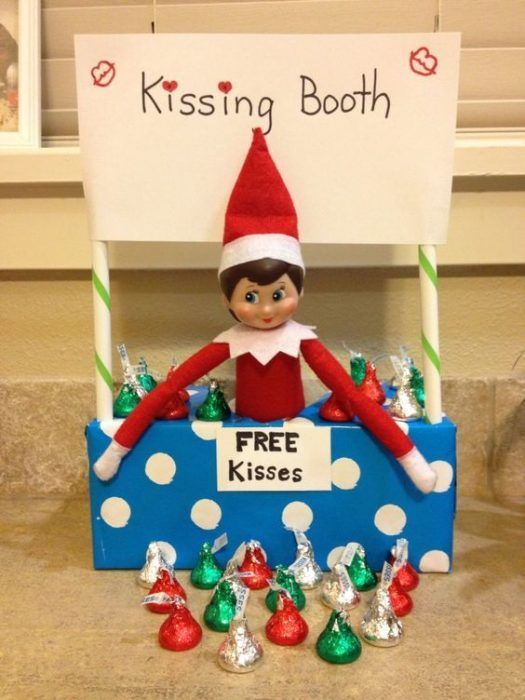 31 Silly Funny and Clever Elf on the Shelf Ideas -