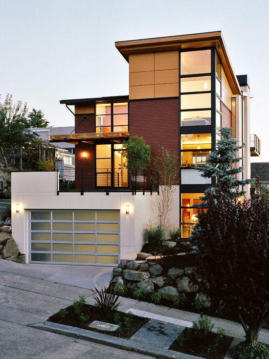 71 Contemporary Exterior Design Photos: Architecture De Maison, Architecture Et Idee Plan Maison