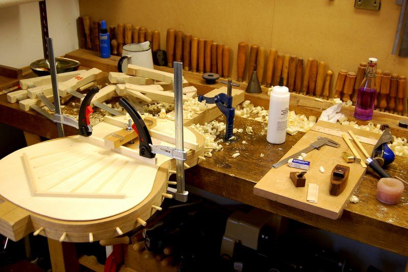 the luthiers workshop luthier guitarras ac stico herramientas de carpinter a. Black Bedroom Furniture Sets. Home Design Ideas
