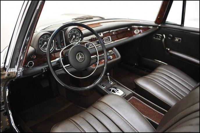 Mercedes Benz Old Interior