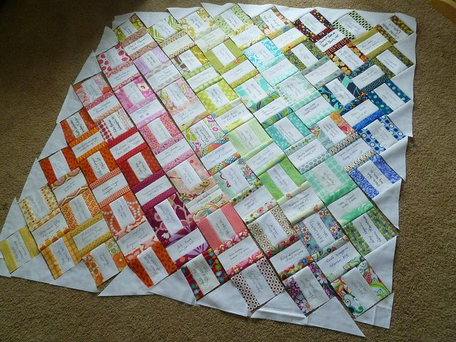 signature quilts | ... make a sweet wedding signature quilt ... : signature quilts - Adamdwight.com