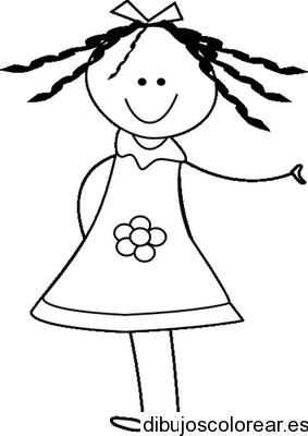 Ninas Dibujos Para Colorear Dibujos Colorear Ninos Dibujos Para Ninos Dibujo De Munecos