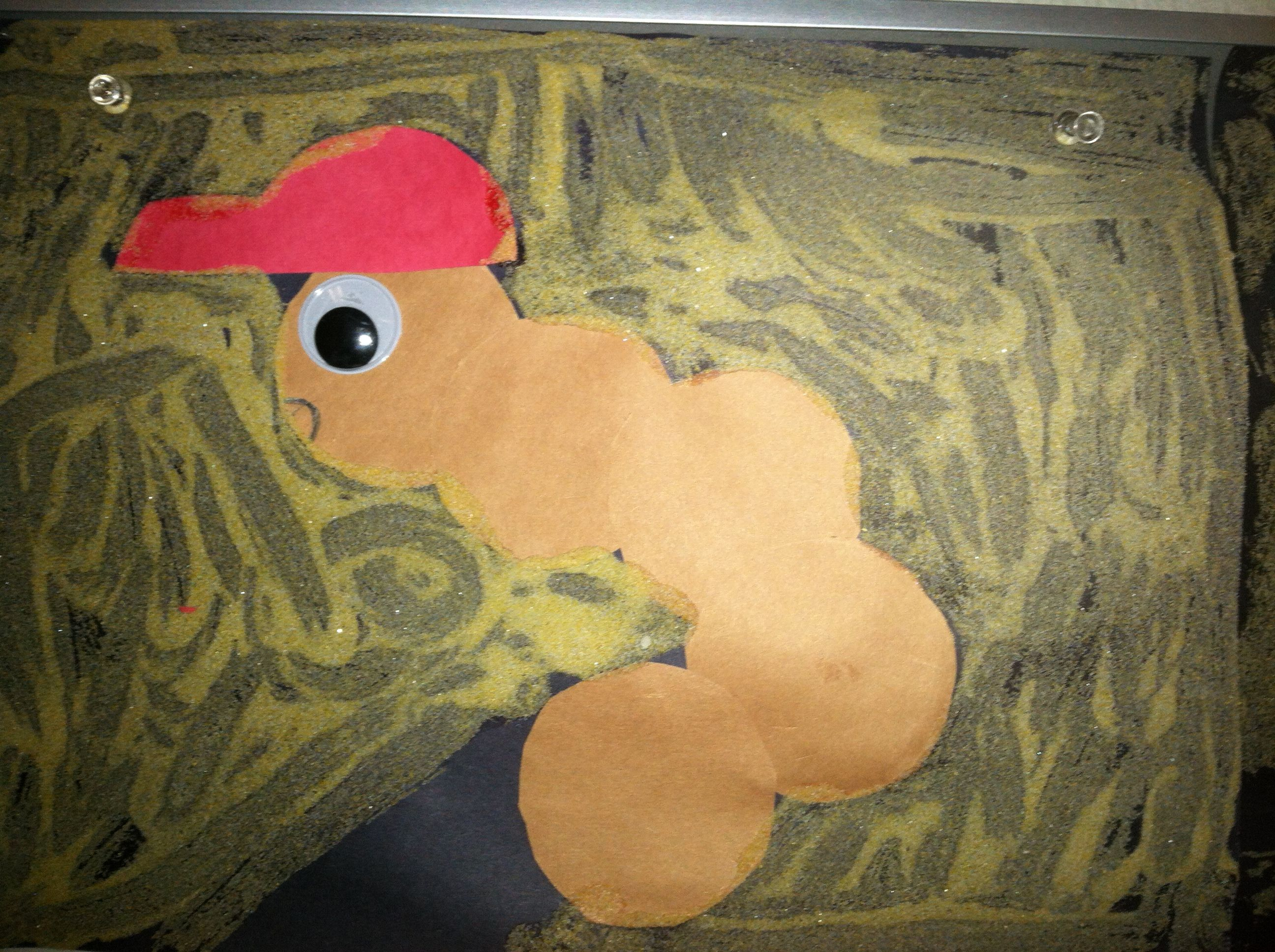 Diary Of A Worm Follow Up Craft Used A Basic Circle Template For Body And Tracer For The Hat