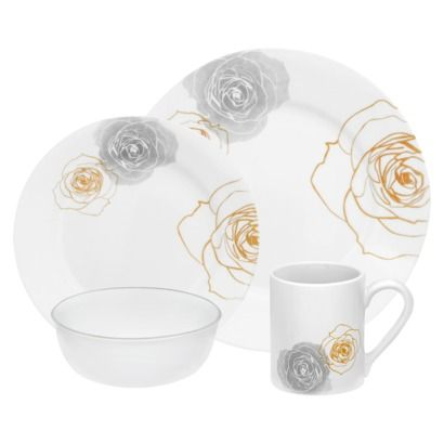 Corelle \ Soleil Roses\  @ target.com #corelle #corelledining #dinnerware  sc 1 st  Pinterest & Corelle \