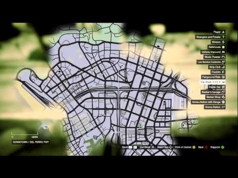 Gta 5 Muscle Cars Locations Map