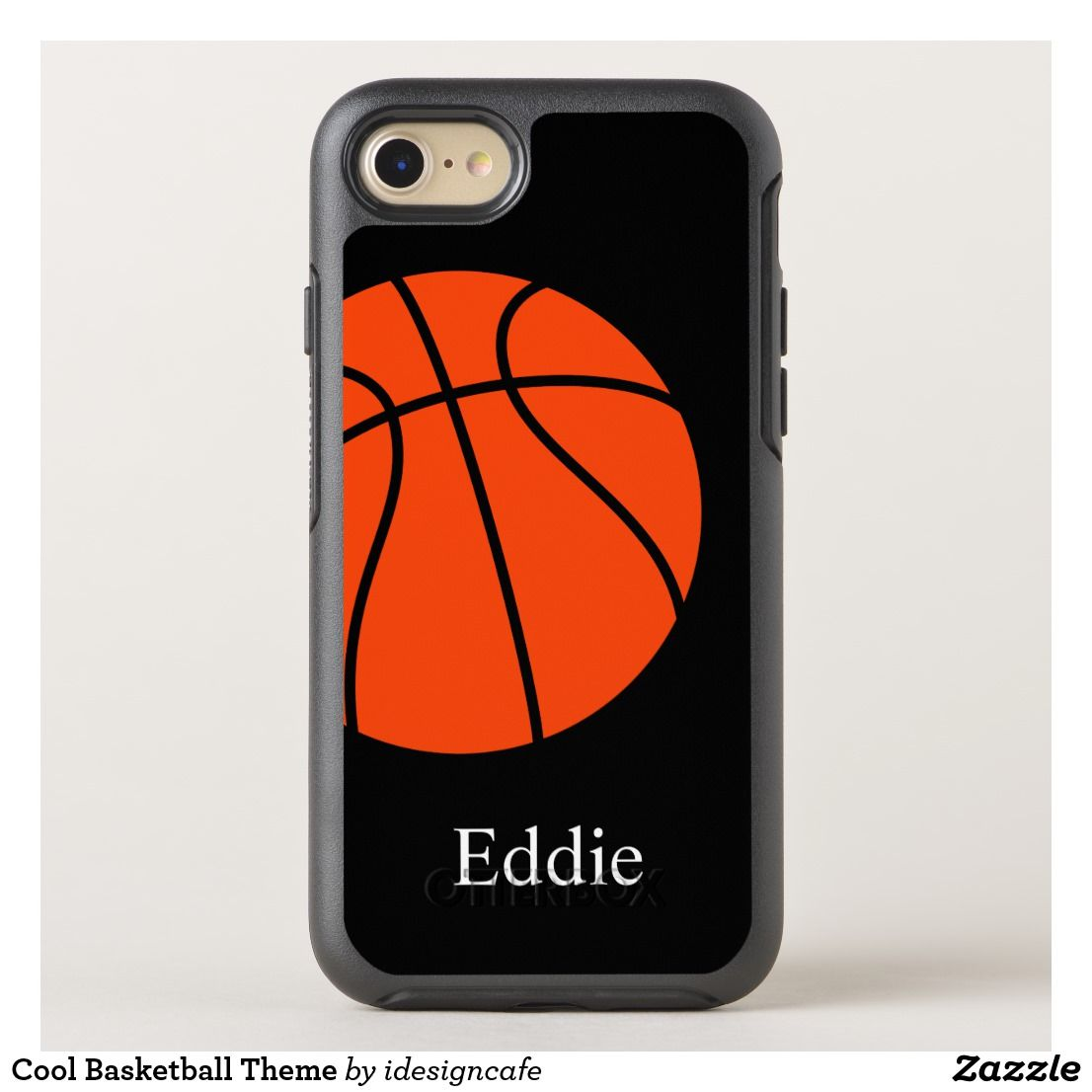 buy online 77d88 6b8d4 Cool Basketball Theme OtterBox iPhone Case | Zazzle.com | Gifts for ...