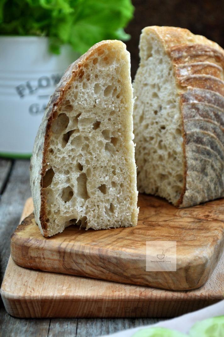 Yummy hausgemachte Küche: einfache Weizenbrot Sauerteig