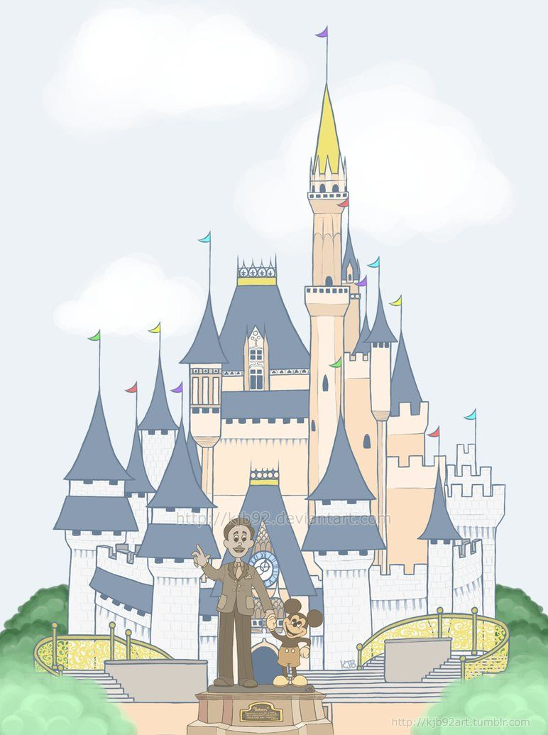 florida cinderella's castle doodle - Google Search | Art Journal ...