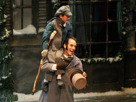Bob & Tiny Tim   English christmas, Scrooge christmas