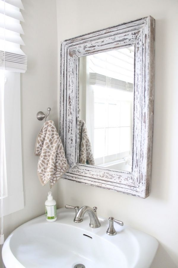 Hang A Fancy Mirror   7 Chic Ideas For Redecorating Your Bathroom ... | All  Women Stalk