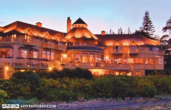 World class salmon fishing lodge in campbell river bc for British columbia fishing lodges