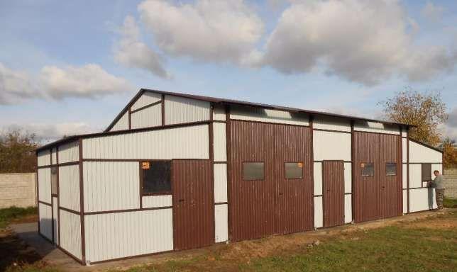 Fertiggarage Stahlhalle Blechgarage Halle Garage inkl